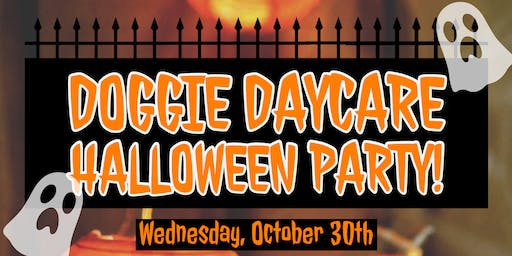 Doggie Daycare Halloween Party