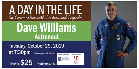 A Day in the Life with Dave Williams tickets