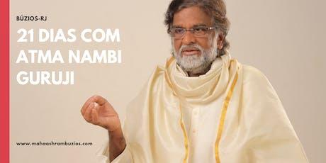 Retiro de 21 Dias com Atma Nambi Guruji  Búzios-RJ ingressos