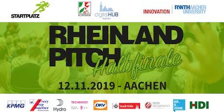 Rheinland-Pitch Halbfinale Aachen 2019 Tickets