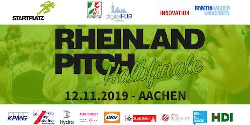 Rheinland-Pitch Halbfinale Aachen 2019