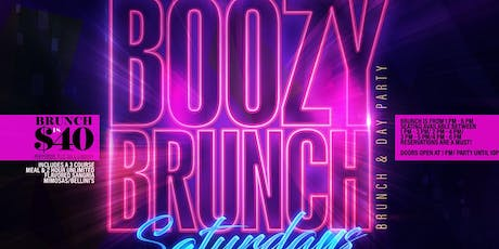 Boozy Brunch Saturdays at Havana Cafe tickets