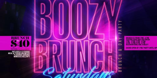Boozy Brunch Saturdays at Havana Cafe