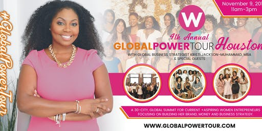 Global Power Tour-Houston Launches November 9th!