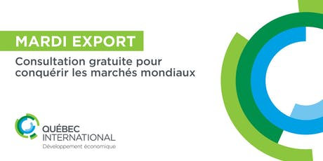 Consultation gratuite - Mardi EXPORT tickets