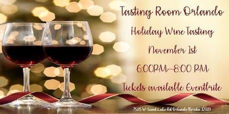 Holiday Tasting tickets
