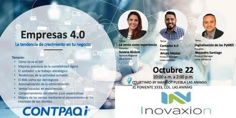 Empresas 4.0 PUEBLA tickets
