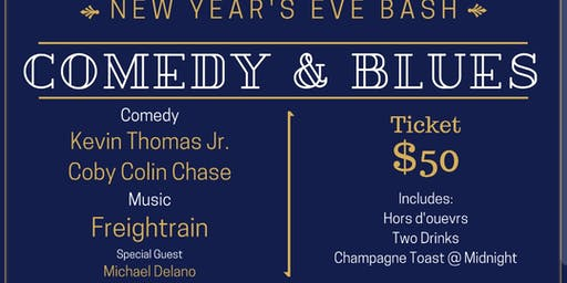 NYE COMEDY AND BLUES @ TERRY'S CORNERS