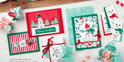 12th Annual Christmas Stamp-a-Stack