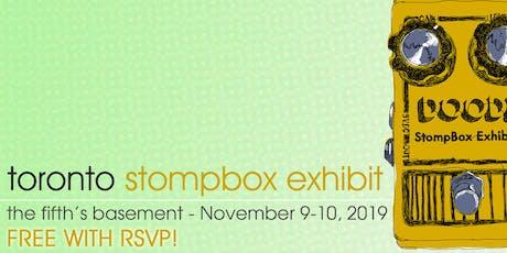 Toronto Stompbox Exhibit 2019 - FREE RSVP tickets