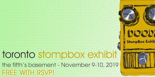 Toronto Stompbox Exhibit 2019 - FREE RSVP