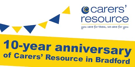 Carers' Resource 10-year anniversary in Bradford tickets