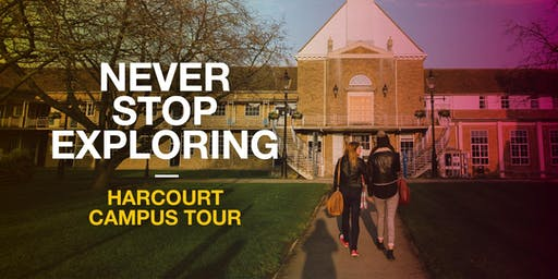 Oxford Brookes Campus Tour - Harcourt - 24 October 2019