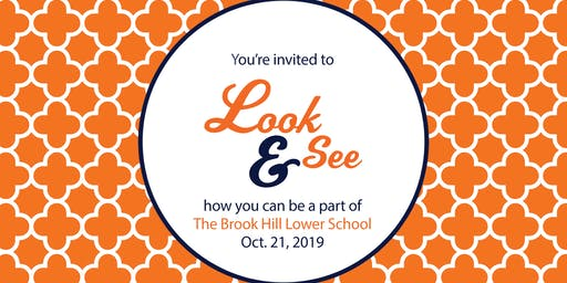 Lower School Look & See (PK-5th grade)