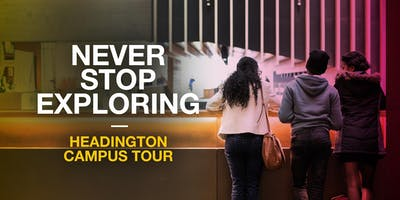 Oxford Brookes Campus Tour - Headington - 16 October 2019