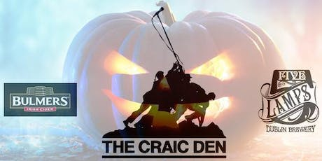 Craic Den Halloween - Comedy Afterlife tickets