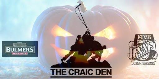 Craic Den Halloween - Comedy Afterlife