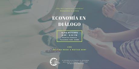 Economía en diálogo: ¿Hay 2 argentinas posibles? ¡Rompamos la grieta! entradas