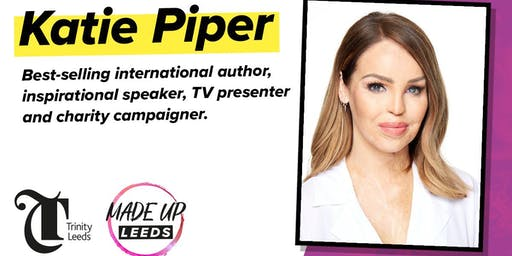 Katie Piper live at Made Up Leeds