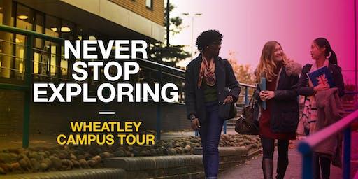 Oxford Brookes Campus Tour - Wheatley - 25 October 2019