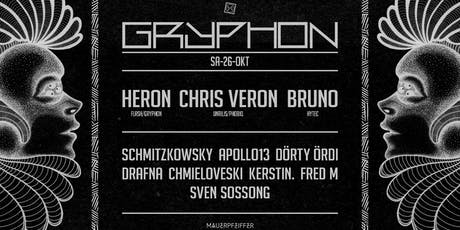 GRYPHON w/ Heron, Chris Veron, Bruno, Sven Sossong uvm. Tickets