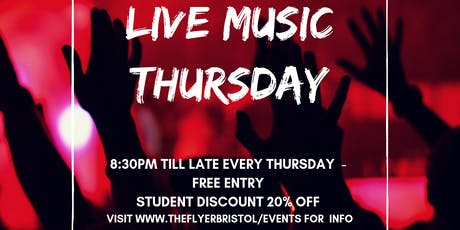 Live Music Thursdays  tickets