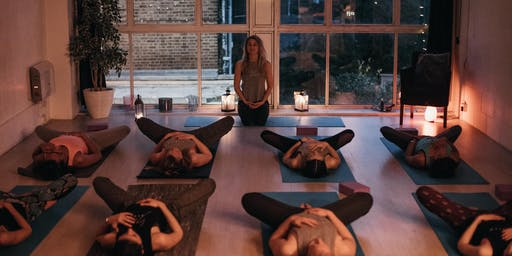 'SLOW-DOWN SUNDAYS' - charity yoga classes at Soul Stretch, Brixton