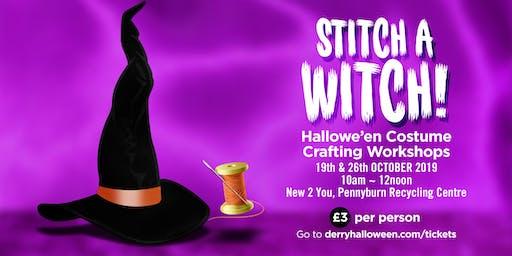 Stitch a Witch