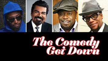 """Cedric the Entertainer, Eddie Griffin, D.L. Hughley, and George Lopez: """"The Comedy Get Down"""""""