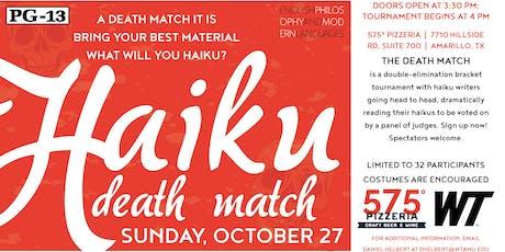 Haiku Death Match tickets