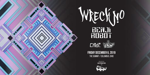 Wreckno, Benji Robot, Chidi., 2 Beard Crew: Mean Mug Music Takeover
