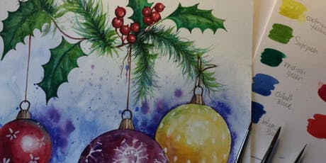 Christmas In watercolour  tickets