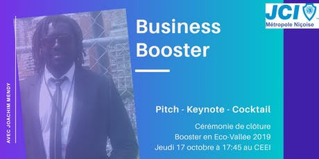 Business Booster - Pitch, Keynote & Cocktail billets