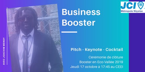 Business Booster - Pitch, Keynote & Cocktail