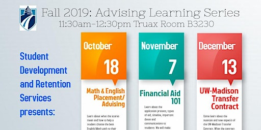 Fall 2019: Advising Learning Series