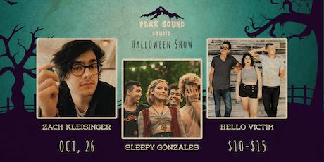 Park Sound Halloween Show: Sleepy Gonzales, Zach Kleisinger & Hello Victim tickets