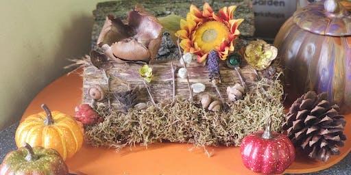 Pine Cone Adirondack Art - Binley's Floral & Garden Workshop