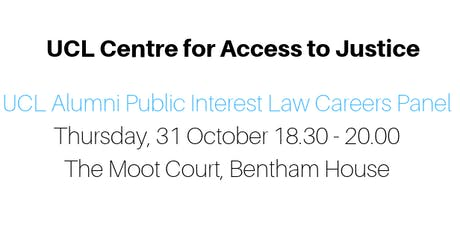CAJ Alumni Careers panel in Public Interest Law tickets