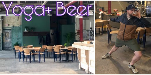 Yoga and Beer at Enlightened Brewing