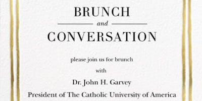 Brunch and Conversation with President John Garvey of the Catholic University of America
