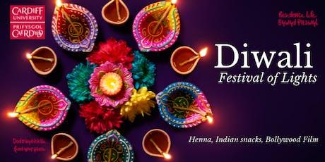 Diwali Party (Festival of Lights)/Parti Diwali (Gŵyl y Goleuni) tickets