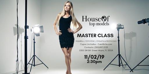 Modeling & Etiquette MASTER CLASS