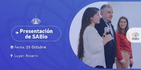 Clase introductoria a SABio en Rosario entradas