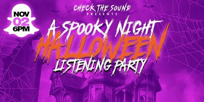 CHECK THE SOUND Halloween PARTY