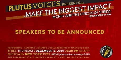 Make the Biggest Impact: Money and the Effects of Stress tickets