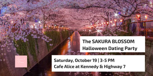 The SAKURA BLOSSOM Halloween Dating Party