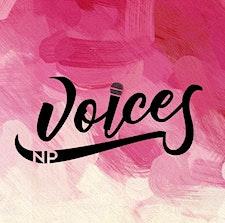NP Voices logo