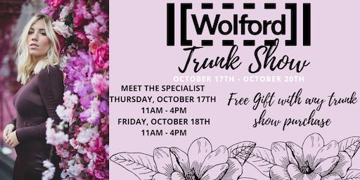 Free Wolford Trunk Show Event