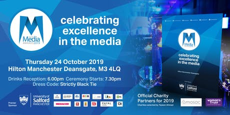 Asian Media Awards 2019 tickets