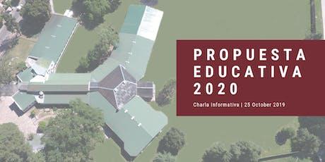 PROPUESTA EDUCATIVA 2020 - TODOS LOS NIVELES entradas